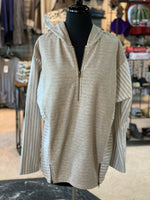 Load image into Gallery viewer, Lakeside Hooded Top - Women (Pearl FRONT)