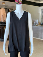 Load image into Gallery viewer, V-Neck Cutout Back Top (Front)