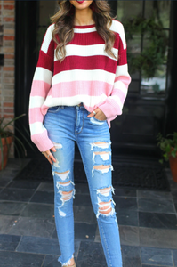 Carrie Colorblock Sweater