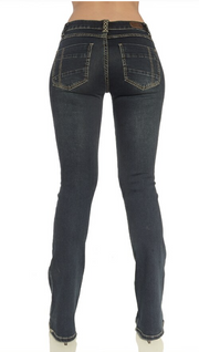 RBS Sarina Bootcut Jeans (Model - Back)