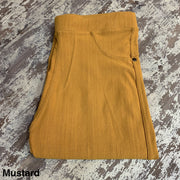 Solid Stretch Jeggings (Mustard)