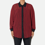 Load image into Gallery viewer, Stripe Buttondown Top (Main)
