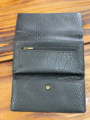 TRSK Leather Wallet - Black (Outside)