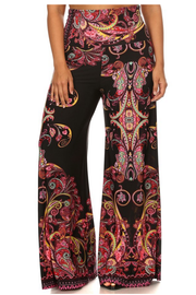 Tapestry Print Pants (Front)