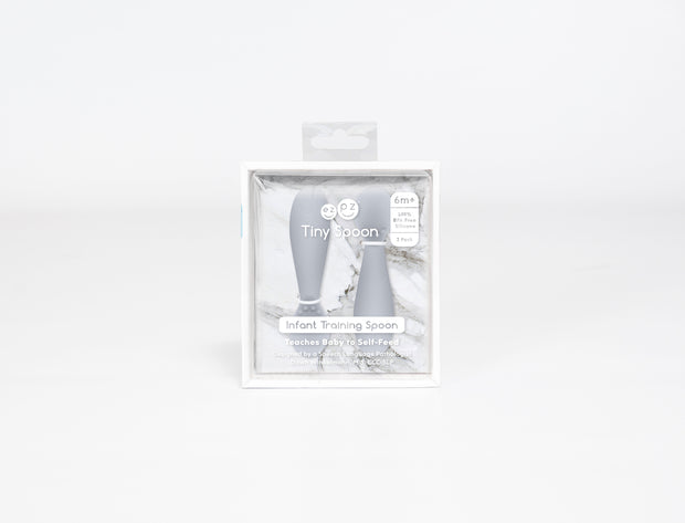 FEZPZ Tiny Spoon - Pewter (Packaging)