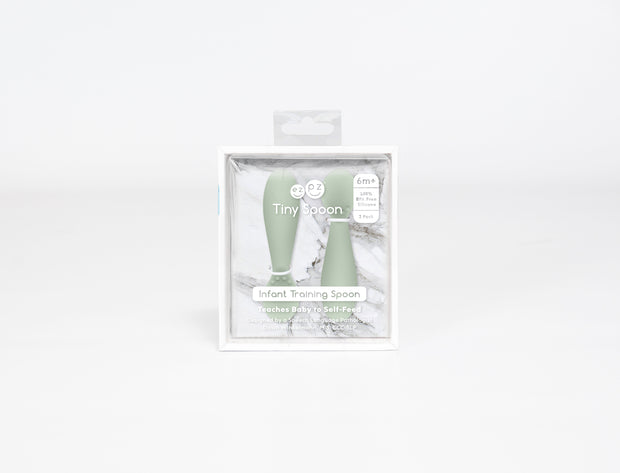 FEZPZ Tiny Spoon - Sage (Packaging)