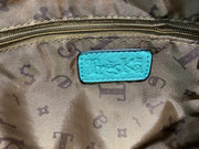 2-Piece Gator Clutch Set - Inside (Turquoise)