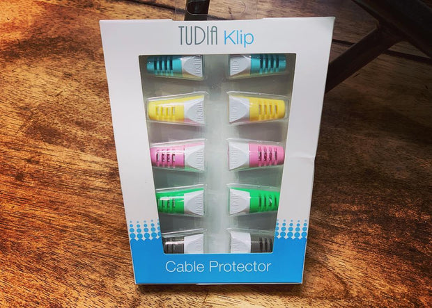 5-Pack Klip Cable Protector Set Packaging