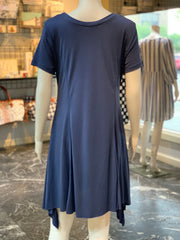 UMG SS Basic Cupro Dress (Back)