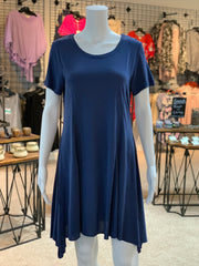 UMG SS Basic Cupro Dress (Front)