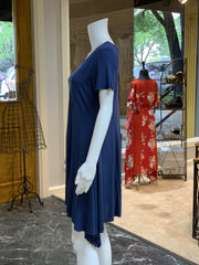 UMG SS Basic Cupro Dress (Side)