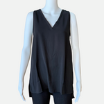 Load image into Gallery viewer, V-Neck Cutout Back Top (Main)