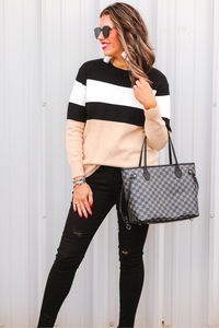 Grant Color Block Sweater (Full)