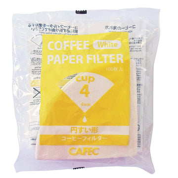 4 Cup Cafec Filter Paper 100 Pack