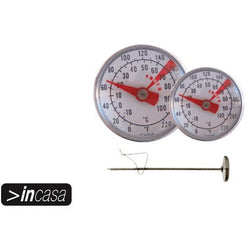 SS Small Thermometer 1-100 Deg Celsius (cased with