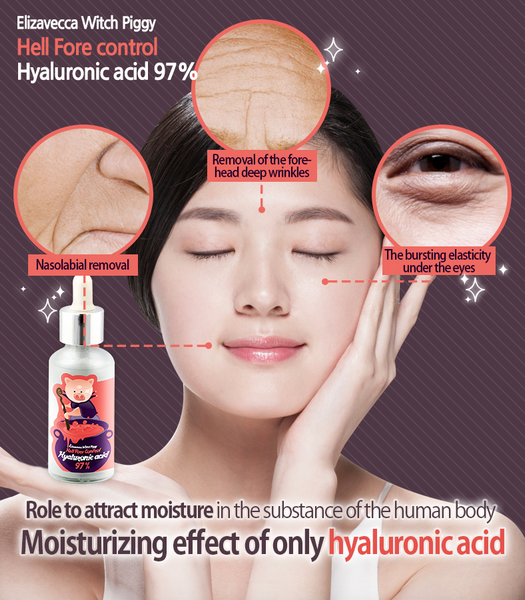 Elizavecca Hell Pore Control Hyaluronic Acid 97%