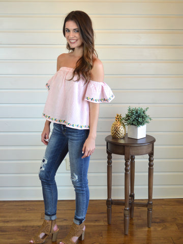 Daydreamer Top - The Posh Pineapple Boutique