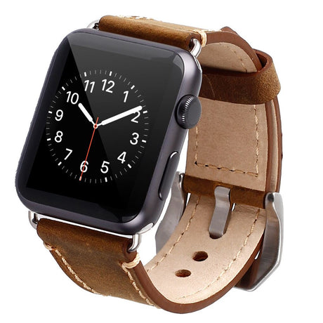 Apple Watch Band Strap Premium Vintage Genuine Leather - Yesgo