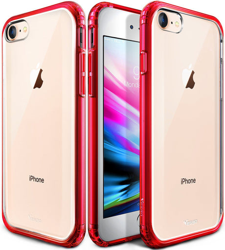 iPhone 8, iPhone 7 Case Cover Non-Slip Shock-Absorption Bumper