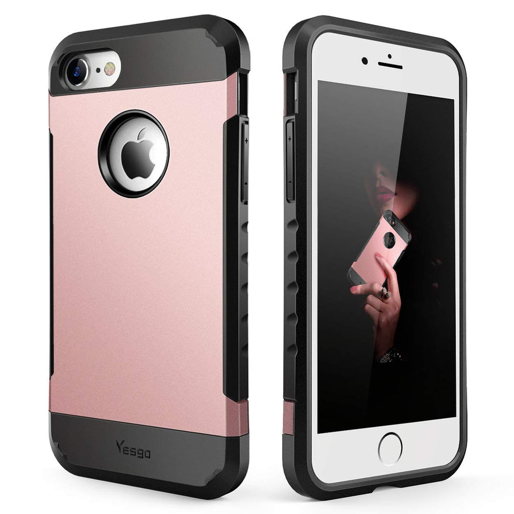 Yesgo Compatible with iPhone 6 Plus Case Shockproof Anti-Scratch Protective Case Cover
