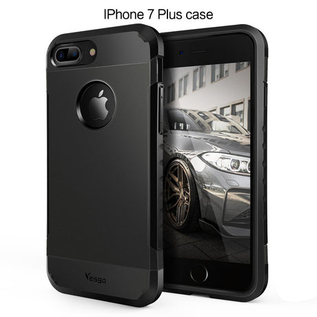 iPhone 7 Plus Case Shockproof Dual layer Rugged Case - Yesgo