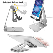 Portable Durable Aluminum Tablet Stand, Compatible with tablet&phone. - Yesgo