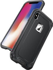 iPhone X Case, Shockproof and Anti-Scratch Bumper Case