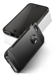 iPhone 7 Case Shockproof-Matte Black - Yesgo