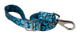 Leash - Ecoweave - Blue Space Dots