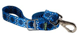 Leash - Ecoweave - Blue Grey Kaleidocscope