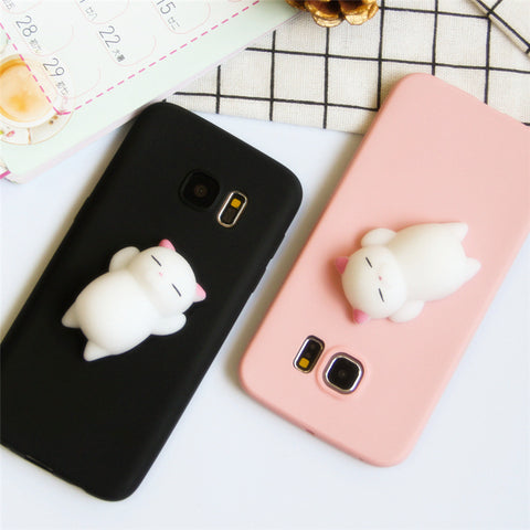 Soft 3D Squeezable Phone Case for Samsung GalaxyS6/s9plus/S7edge8