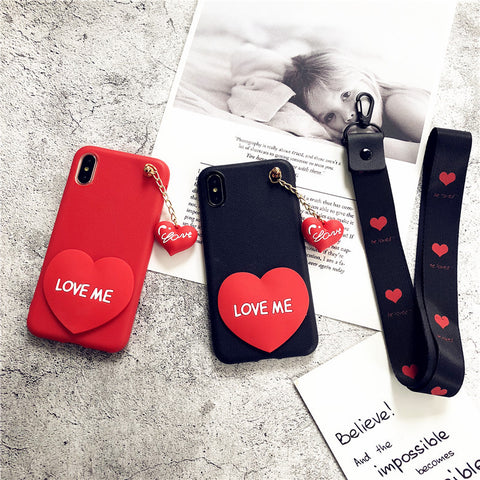 Heart Style Phone Case for iphone Samsung Galaxy