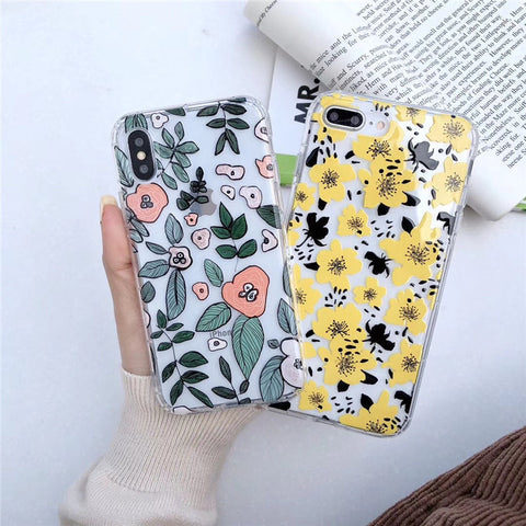 Floral Phone Case for iphone 10 Styles