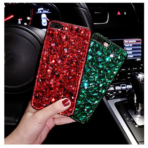 Big Diamond Phone Case for iphone Samsung