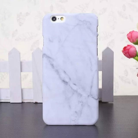 Luxury Retro Marble Pattern Case For Samsung Galaxy S7 Edge S8 S9 Plus Note 8 Hard PC Back Cases For iPhone 5 5S 6S 7 8 Plus X