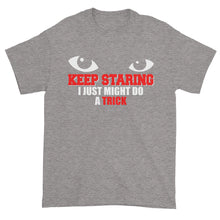 Keep Staring Short sleeve t-shirt