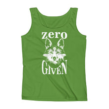 Zero Fox Given Ladies' Tank Top