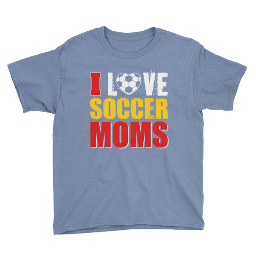 I Love Soccer Moms Youth Short Sleeve T-Shirt