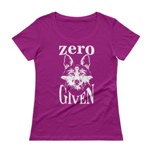 Zero Fox Given Ladies' Scoopneck T-Shirt