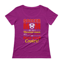 Soccer Moms Ladies' Scoopneck T-Shirt