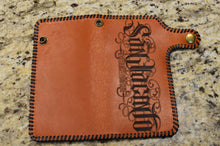 "Leather ""San Jacinto"" Wallet"
