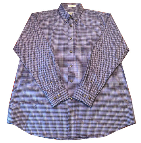 Long Sleeve Plaid - Blue