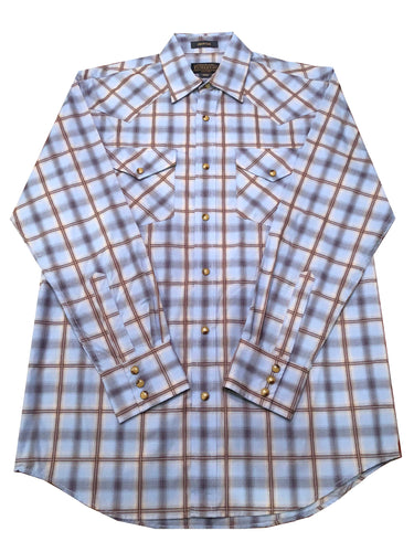 Pendleton Frontier Button-Up (Blue)