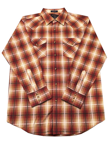 Pendleton Frontier Button-Up (Shades of Brown)