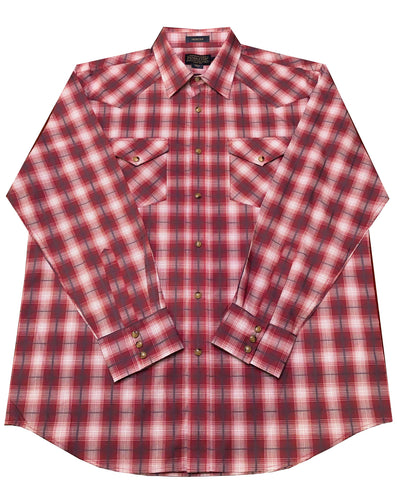 Pendleton Frontier Button-Up (Red, White and Grey)