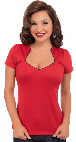 Sophia Top - Red