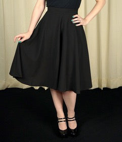 High Waist Thrill A-Line Skirt