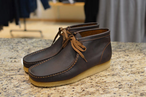 Wallabee Boots - Beeswax