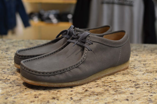 Wallabee Step – Gray Nubuck
