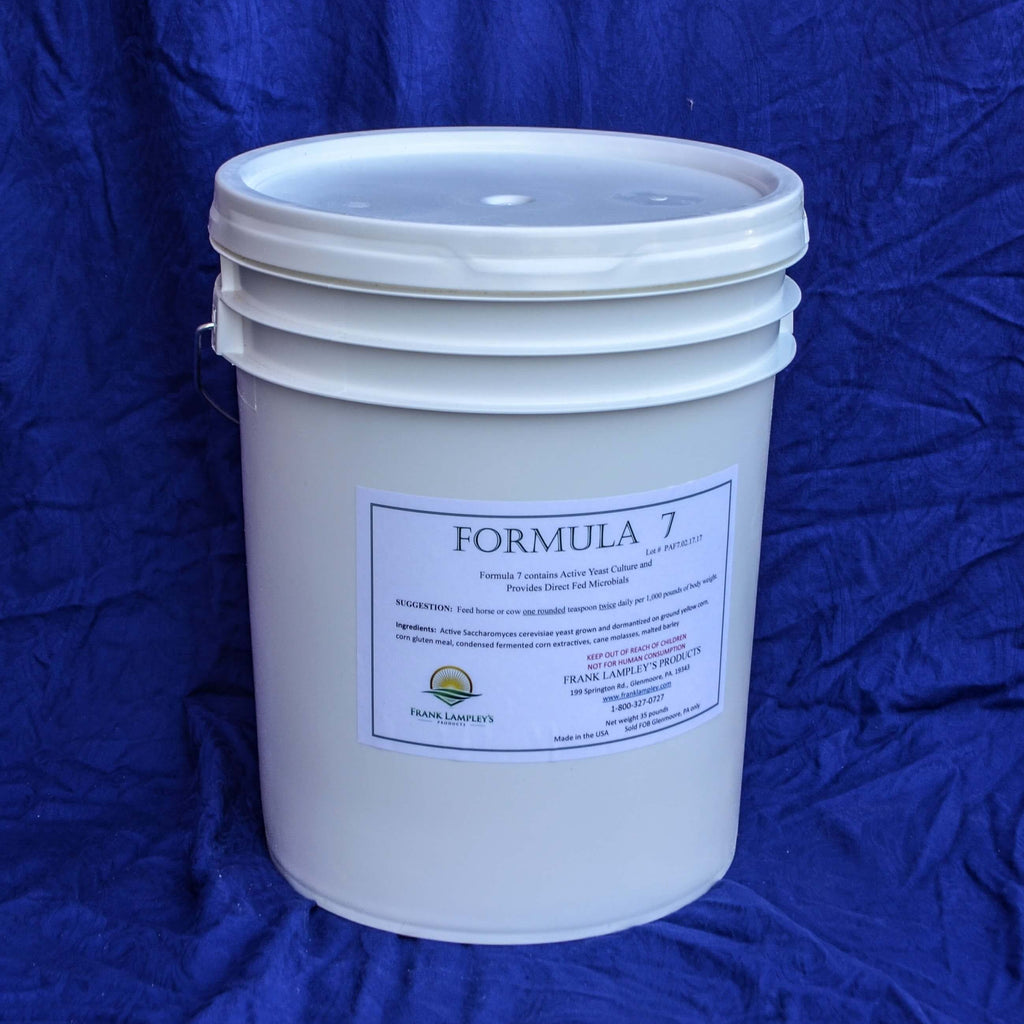 Formula 7 - Frank Lampley's  Horse & Cow Products